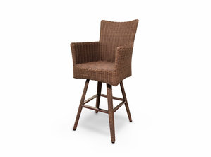 A pair of South Beach Swivel Bar Stool