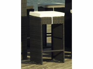 South Hampton Outdoor Wicker Barstool