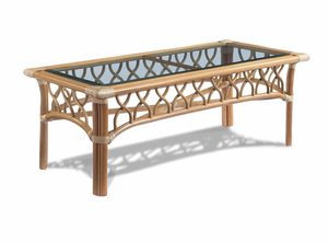 St. Thomas Rattan Coffee Table