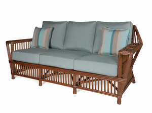 The Lodge Rattan Sofa