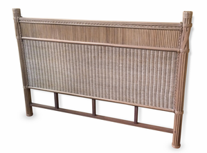 The Manor Wicker King Headboard