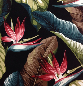 Tropical Fabric for Rattan Furniture