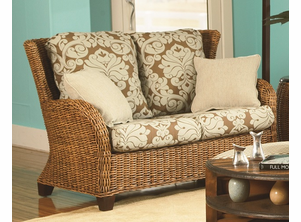 Westport Wicker Loveseat