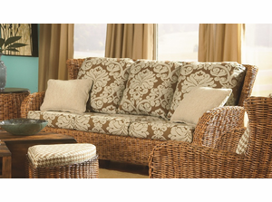 Westport Wicker Sofa