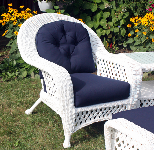 Wicker Chair Pictures: White Outdoor Wicker Chair