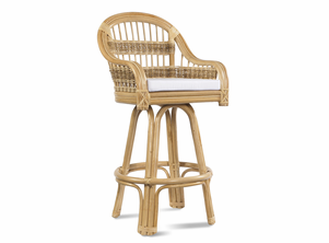 Wicker Bar Stool | Tropical Breeze