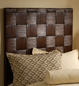 Wicker Basket Weave Headboard