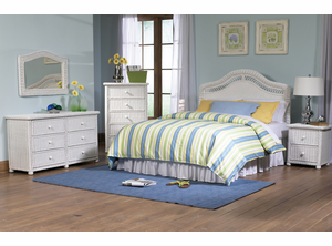 Wicker Bedroom Collection - Elana