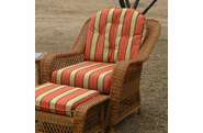 Wicker Chair Cushion Set
