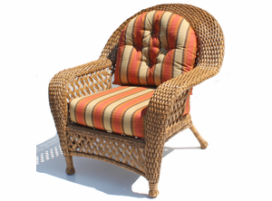 Wicker Furniture Cushions - Chair Set