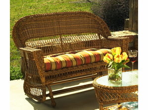 Wicker Glider Loveseat: Cape Cod Glider