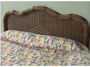 Wicker King Headboard - Savannah