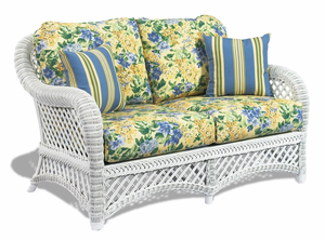 Wicker Loveseat Cushions