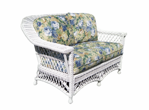 Wicker Loveseat - Vineyard