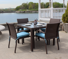 Wicker Patio Dining Set - Sonoma