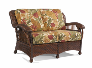 Wicker Rattan Loveseat - Casablanca