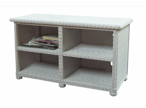 Wicker Widescreen TV Stand