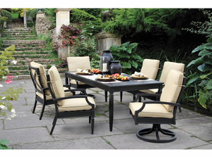 Winter Haven Aluminum Dining Set/7