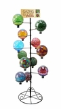"10""D Globe Stand - Fits 12 pcs by Alpine Corp"