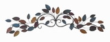 "10""H Metal Wall Decor in Strong and Durable Construction Brand Woodland"