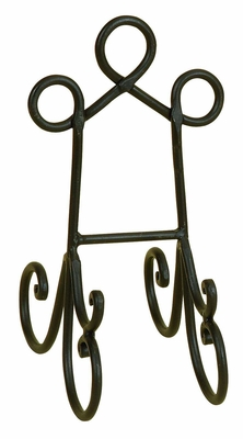 Metal Easels Cook Books Arts Wedding In Black - 26624 by Benzara