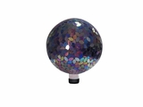 "10"" Mosaic Gazing Ball - Purple by Alpine Corp"