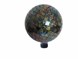 "10"" Mosaic Gazing Globe by Alpine Corp"