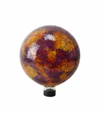 "10"" Mosaic Gazing Globe (Pink/Yellow/Red) by Alpine Corp"