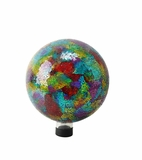 "10"" Multi Color Mosaic Gazing Globe by Alpine Corp"