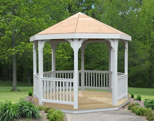 10' Vinyl Gazebo by Creekvine Design