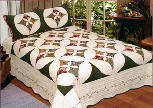 100% Cotton Unchained Melody Sham by American Hometex