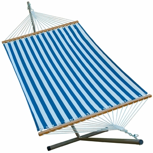 11' Fabric Hammock and Stand Combination by Alogma