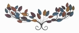 "11""H Metal Wall Decor in Strong and Durable Construction Brand Woodland"
