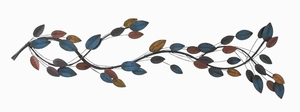 "11""H Metal Wall Decor with Sleek and Attractive Appearance Brand Woodland"