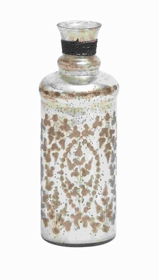 "12""H Petite and Attractive Glass Bottle Distinctive Style Brand Woodland"