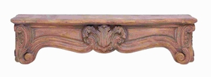 "12""H Traditional Designed Corbel with Rich Carvings and Arty Look Brand Woodland"