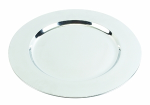 "12"" Stainless Steel Silver Round Charger Plates - Set of 36 Brand Woodland"