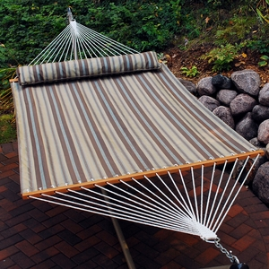 13' Quick Dry Hammock with Pillow by Alogma