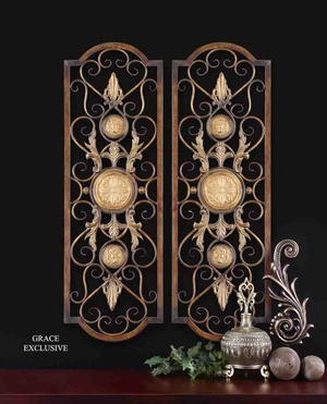 13475 Micayla Panels Set/2: Decor Appealing To Everyone Brand Uttermost