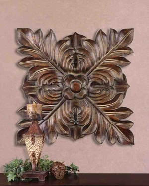 13530 Four Leaves Plaque: Traditional Yet Fashionable Brand Uttermost