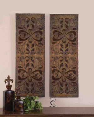 13643 Alexia Panels Set/2: Tunes Up The Mood Of Visitors Brand Uttermost