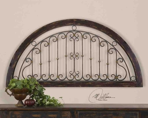 13713 Calabria Plaque: Brings Social Appreciation For Decor Sense Brand Uttermost