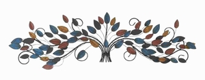 "14""H Metal Wall Decor with Detail Work and Elegant Style Brand Woodland"