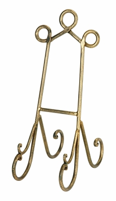 Wedding Metal Easels Stands Cook Books Art - 26428 by Benzara