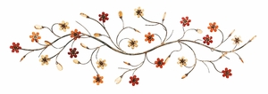 "16"" Classic Metal  Flower Story Wall Art Decor Sculpture Brand Woodland"