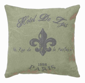 """17"""" Beautiful and Simple Fabric Pillow in Classic Style Brand Woodland"""