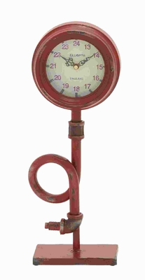 """17""""H Artistic Metal Clock, Creates Focal Point in Your Room Brand Woodland"""