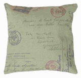 "17""H Fabric Pillow Elegant Yet Unique Look in Rich Beige Color Brand Woodland"