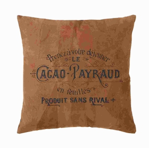 """17""""H Real Leather Pillow Distinctive Style in Brown Shade Brand Woodland"""
