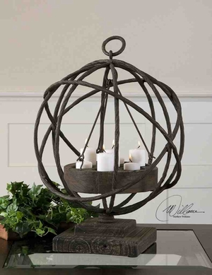 17059 Sammy Candleholder: Feel The Pleasure Of Candle Light Brand Uttermost